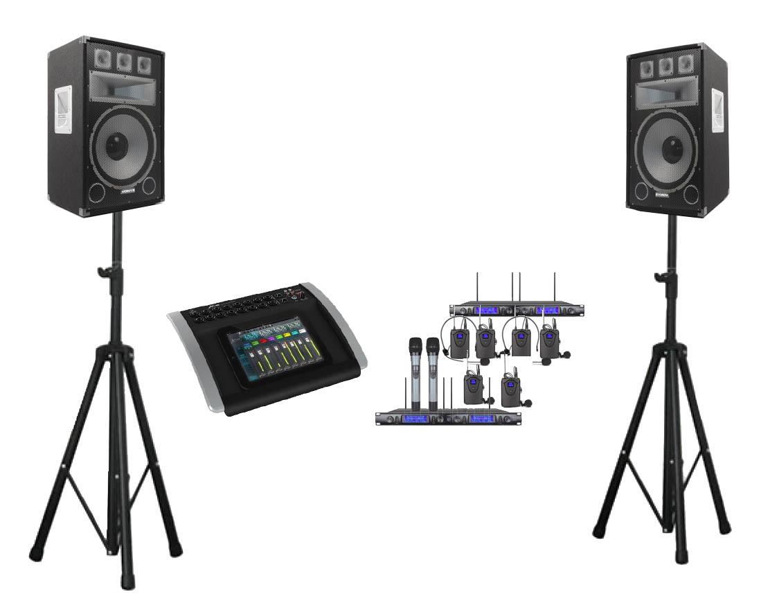 audio apparatuur huren